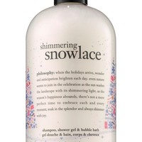 philosophy shimmering snowlace shampoo, shower gel & bubble bath (Limited Edition) | Nordstrom