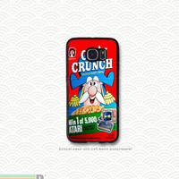 Case Cap'n Crunch and other Retro Cereal Boxes, Custom Phone Case for Galaxy S4, S5, S6