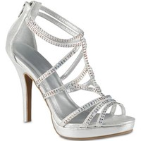Call It Spring™ Chloe Strappy Rhinestone Sandals