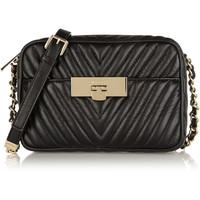 MICHAEL Michael Kors - Susannah quilted leather shoulder bag