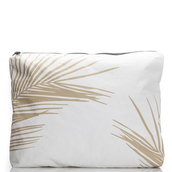 ALOHA Collection - Max Fronds Pouch | Sand