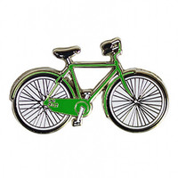 enamel bicycle pin