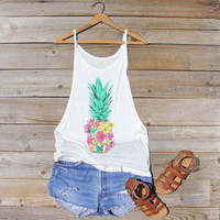 Pineapple Flower Tank