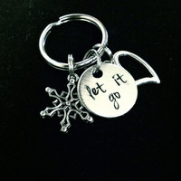 "Frozen Inspired ""Let it Go"" Keychain"