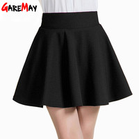 Summer Short Skirt for Women All Fit Tutu Skirt White Back Color Women Clothing Short Skirts Faldas Ball Gown