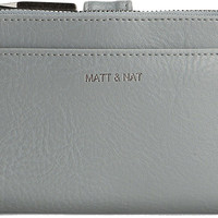 Wallets for Women: Motiv Small in Gravel by Matt & Nat