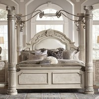 Monte Carlo II Upholstered Canopy Bed
