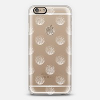 white and sparkly day transparent case iPhone 6 case by Marianna Tankelevich | Casetify