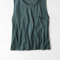 AEO Women's Don't Ask Why Pocket Tank
