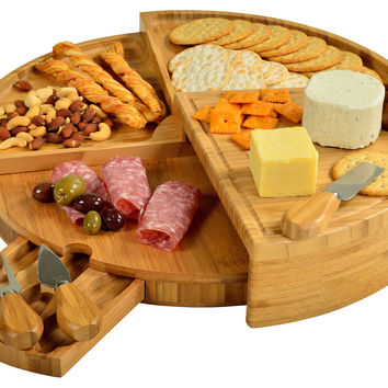 Vienna Transform Cheese Board, Natural, Picnic Baskets