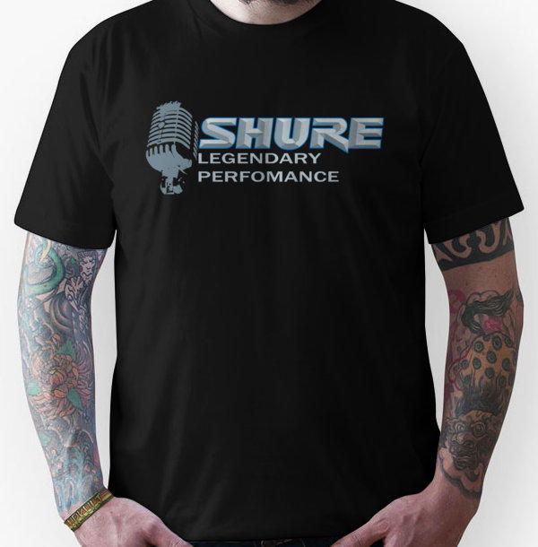 Shure Microphone Legendary Performance From Redbubble Epic