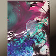 Abstract Art Painting on Canvas - 18x24 Contemporary Original  by Destiny Womack - dWo - Beauty & Chaos