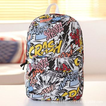 School Backpacks for kids for college Canvas Bags