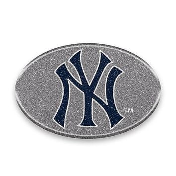 New York Yankees Auto Emblem - Oval Color Bling