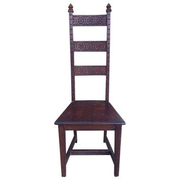 Pre-owned Spanish Arts & Crafts Chair