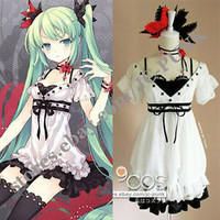VOCALOID Hatsune MIKU world is mine cosplay costume Dress