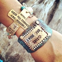 Matthew 19 Stretch Bracelet