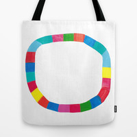 Happy Circle  Tote Bag by Karin Lauria
