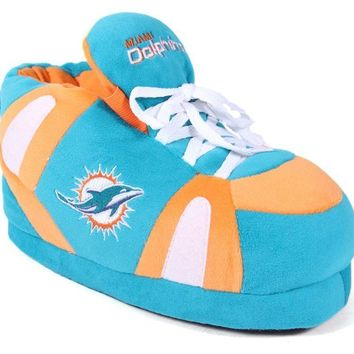 Miami Dolphins Men's and Womens Sneaker Slippers