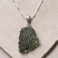 Magical Moldavite Pendant - One Of A Kind Discontinued