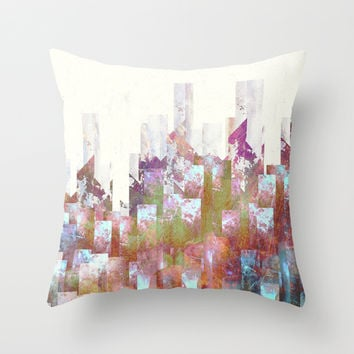 Dead cities Throw Pillow by HappyMelvin