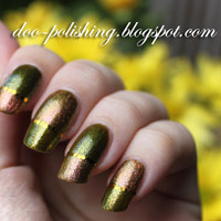 * Doo polishing *: Autumn Nails with CC and Orly