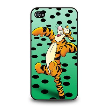 TIGGER Winnie The Pooh iPhone 4 / 4S Case Cover