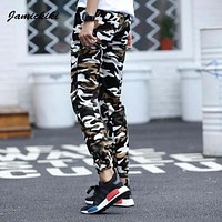 Jamickiki Mens Compression Military Tactical Pants Camouflage Printed Skinny Cotton Clothing Floral Pants Men Pantalons Hombre
