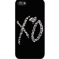 THE WEEKND xo design leopard Design iPhone 5s For iPhone 5/5S Case