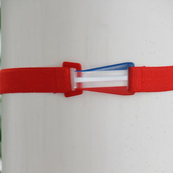 American Flag Belt, Red White Blue, 4th of July