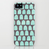 Slate & Ice iPhone & iPod Case by Jacqueline Maldonado