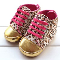 Aliexpress.com : Buy 2014 new children's spring and autumn gold velvet shoes boys and girls shoes leopard baby shoes toddler baby shoes from Reliable shoe sole cleaning machine suppliers on Smalltao Kids Paradise