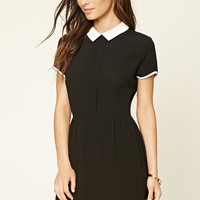 Peter Pan Collar Mini Dress