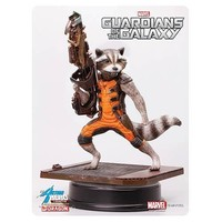 Guardians of the Galaxy Rocket Raccoon 7-Inch Action Hero Vignette Model Kit
