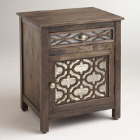 Kiran Antiqued Mirror Cabinet | World Market