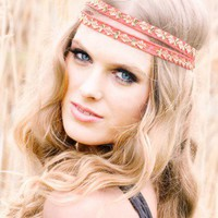Orange Head Bands - Alexa | UsTrendy