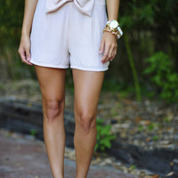Such A Prep Shorts: Light Taupe   Hope's