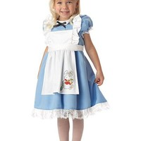 Infant/Toddler Costumes Lil' Alice (Large (4-6),Blue/White)
