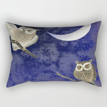 Cousins Rectangular Pillow by anipani
