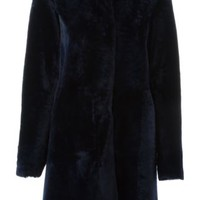 Drome Collarless Furry Coat - Nike - Via Verdi - Farfetch.com