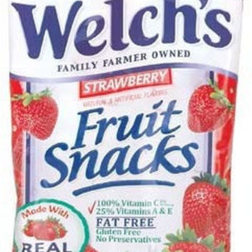 Fruit Snack Strawberry - 2.25 oz. Case Pack 24