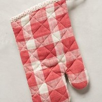 Christmas Plaid Potholders by Pehr Red