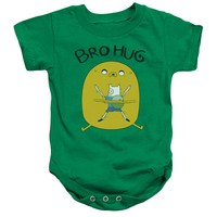 Adventure Time - Bro Hug Infant Snapsuit Officially Licensed Baby Clothing