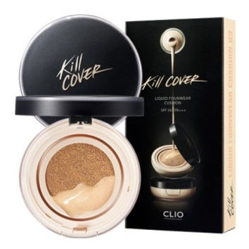 CLIO, Kill Cover Liquid Foundation Cushion SPF51+ PA+++