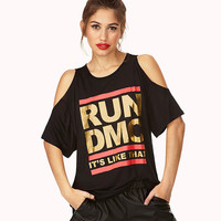 Fashion Casual Letter Print Round Neck Strapless Short Sleeve Loose T-shirt Tops