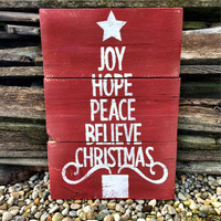 Christmas Sign Christmas Decor Christmas Pallet Decor Holiday Sign Holiday Decor Pallet Decor Holiday Pallet Decor