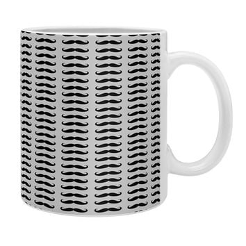 Allyson Johnson Classy Mustaches Coffee Mug