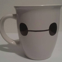 Big Hero 6 Baymax inspired mug