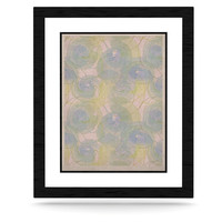 "Alison Coxon ""Blue Paper Flower"" KESS Natural Canvas, 11"" x 14"" - Outlet Item"