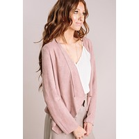 Eve Faux Suede Thin Jacket